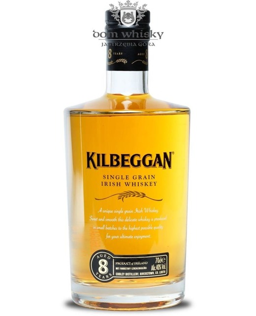 Kilbeggan 8-letni Single Grain /40%/0,7l