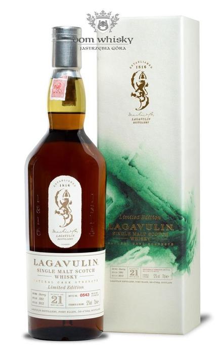 Lagavulin 21-letni (D.1991, B.2012) /52%/0,7l