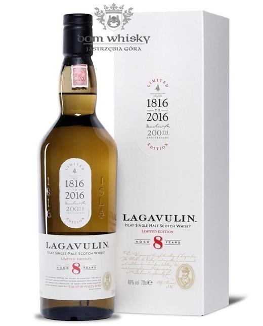 Lagavulin 8-letni, 200th Anniversary /48%/0,7l
