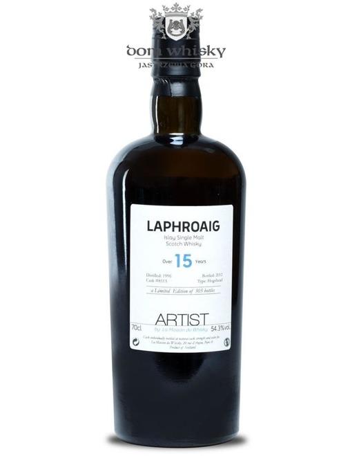 Laphroaig 15-letni Cask 8513(D.1996 B.2012)Artist #002/54,3%/0,7