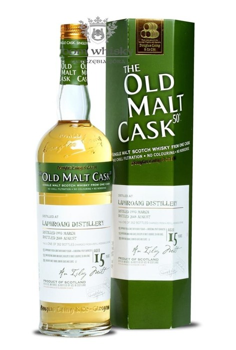 Laphroaig 15 letni D.1993 B.2008 Old Malt Cask / 50% / 0,7l