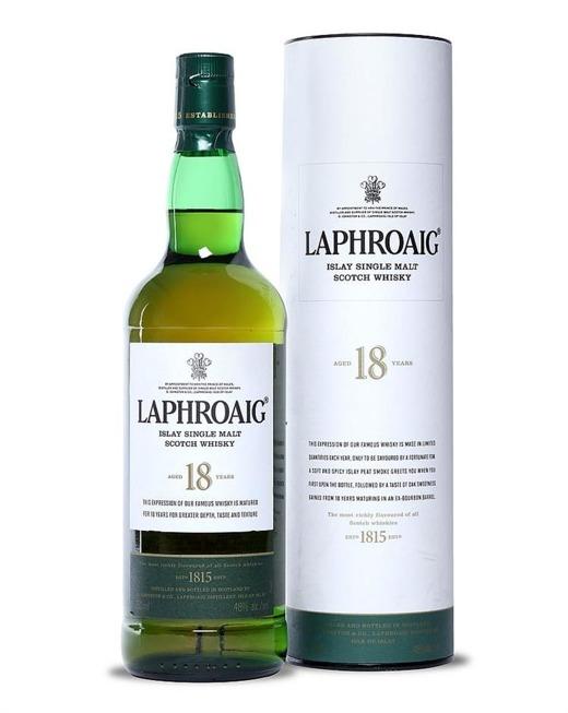 Laphroaig 18-letni /48%/0,75l