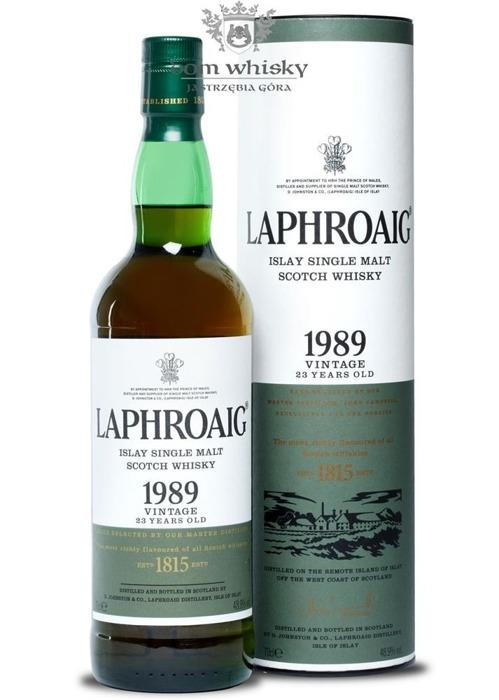 Laphroaig 1989 Vintage, 23-letni /48,9%/0,7l