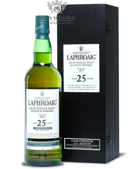Laphroaig 25-letni (2011 Cask Strength Edition) /48,6%/0,7l