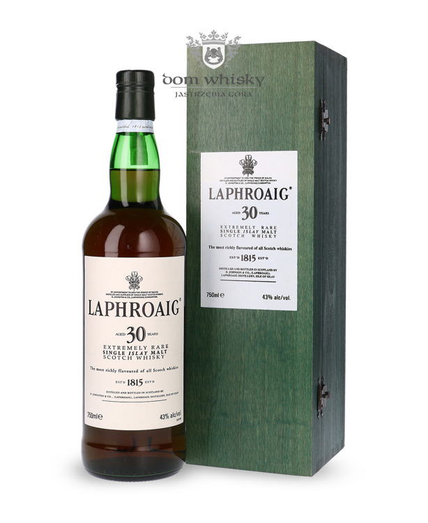 Laphroaig 30 letni / 43% / 0,75l