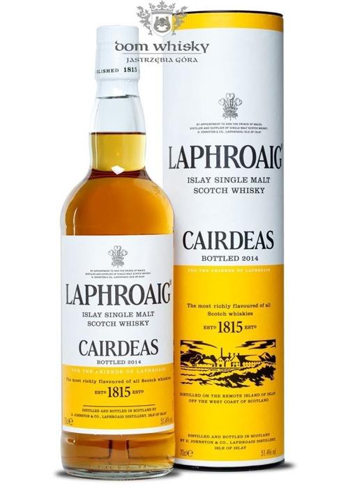 Laphroaig Càirdeas (2014 Fèis Ìle Bottling) /51,4%/0,7l