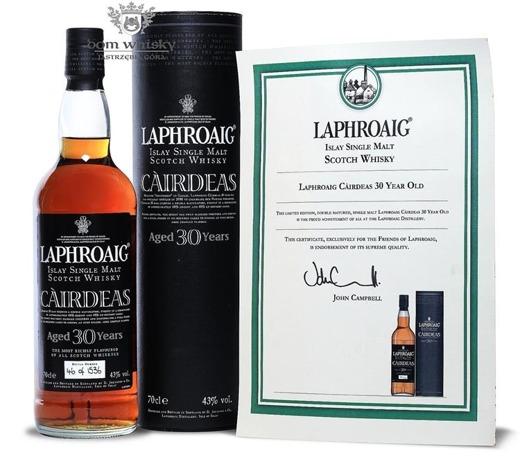 Laphroaig Càirdeas 30-letni (2008 Bottling) /43% /0,7l