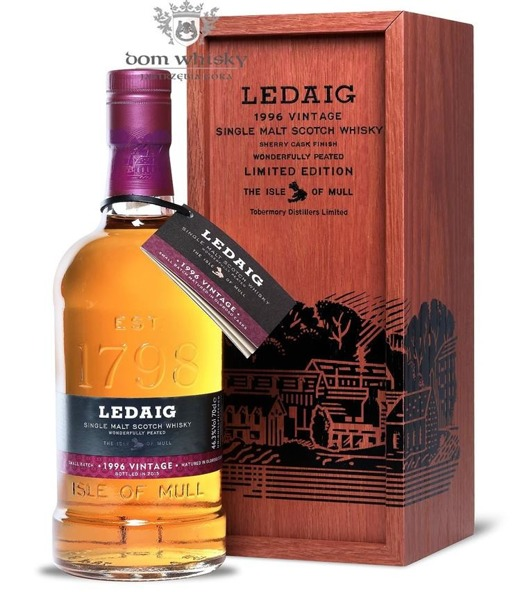 Ledaig 1996 Vintage (Bottled 2015) /46,3% /0,7l