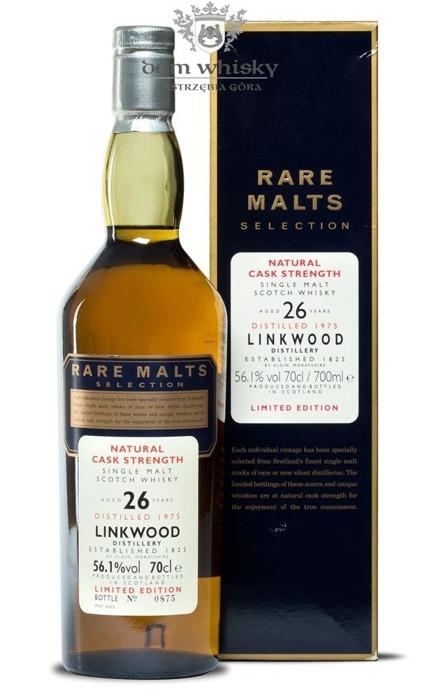 Linkwood 26-letni (D.1975, B.2002) Rare Malts / 56,1%/0,7l