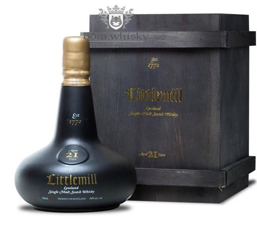 Littlemill 21-letni, First Release (Bottled 2012)  /46%/0,7l