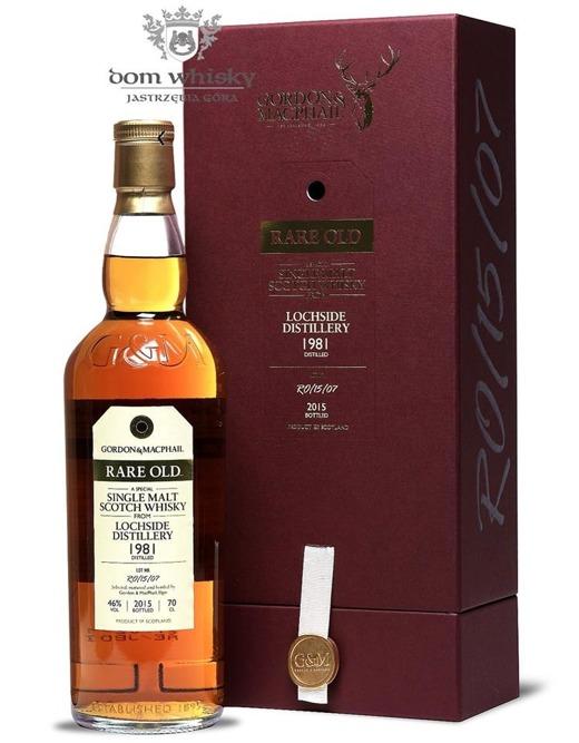 Lochside 1981 (Bottled 2015) Rare Old, Gordon & MacPhail / 46%/ 0,7l