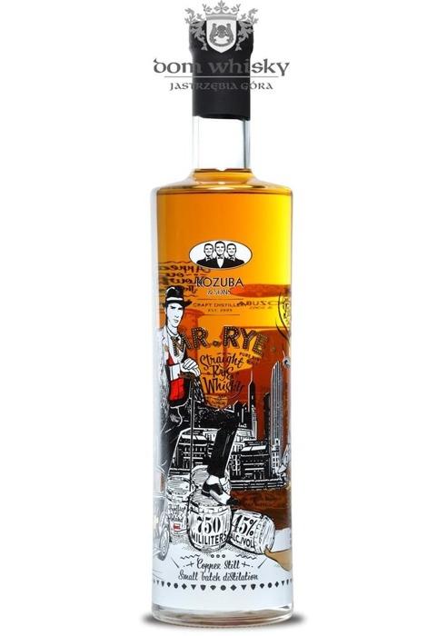 MR.RYE Straight Rye Whisky, Kozuba & Sons / 45% / 0,75l