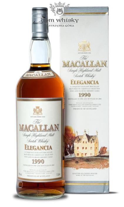 Macallan 1990 Elegancia (Bottled 2002) /40%/1,0l