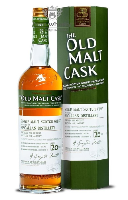 Macallan 20-letni (D.1990, B.2011) Old Malt Cask /50%/0,7l