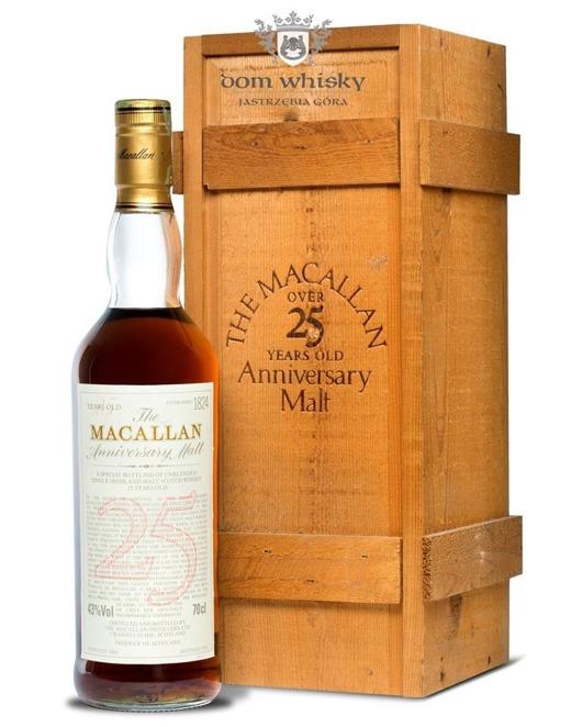 Macallan 25-letni Anniversary Malt (D.1966, B.1992)/ 43% / 0,7l