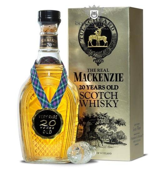 Mackenzie 20 letni Tulach Ard Decanter / 43% / 0,75l