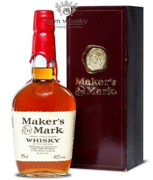 Maker's Mark Bourbon Whisky / 45% / 0,75l