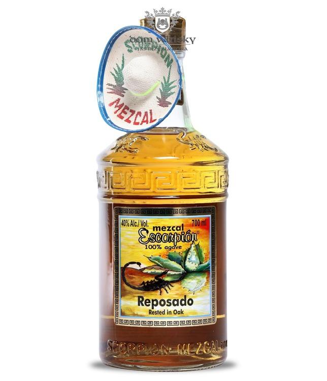 Mezcal Scorpion Reposado 100% Agave / 40% / 0,7l