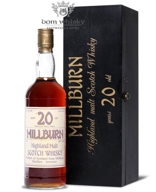 Millburn 20-letni (D.1966, B.1986) / 40%/ 0,75l