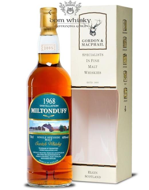 Miltonduff 1968 (Bottled 2005) Gordon & MacPhail / 40%/ 0,7l