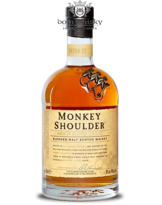 Monkey Shoulder Blended Malt / 40% / 0,7l