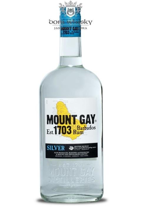 Mount Gay Silver Rum (Barbados) / 40% / 0,7l