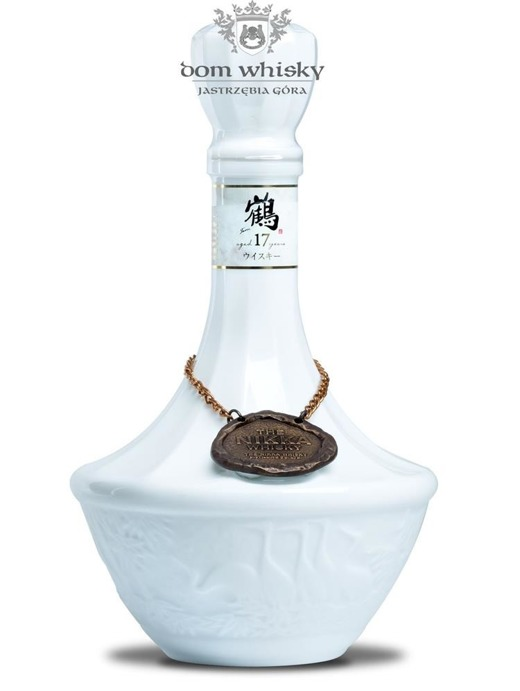 Nikka 17-letnia Tsuru Ceramic Porcelana / 43% / 0,7l