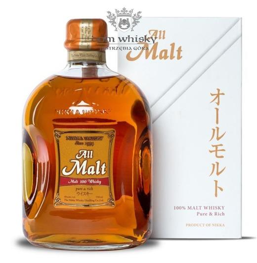 Nikka All Malt Gold Label + kartonik / 40% / 0,7l