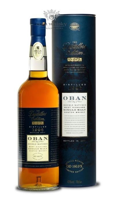 Oban 1996 (Bottled 2011) Distillers Edition / 43%/ 0,7l