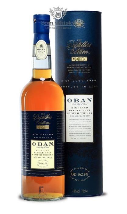 Oban 1999 (Bottled 2014) Distillers Edition / 43%/ 0,7l