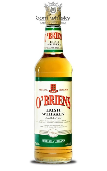 O'briens Special Reserve Irish Whiskey / 40% / 0,7l