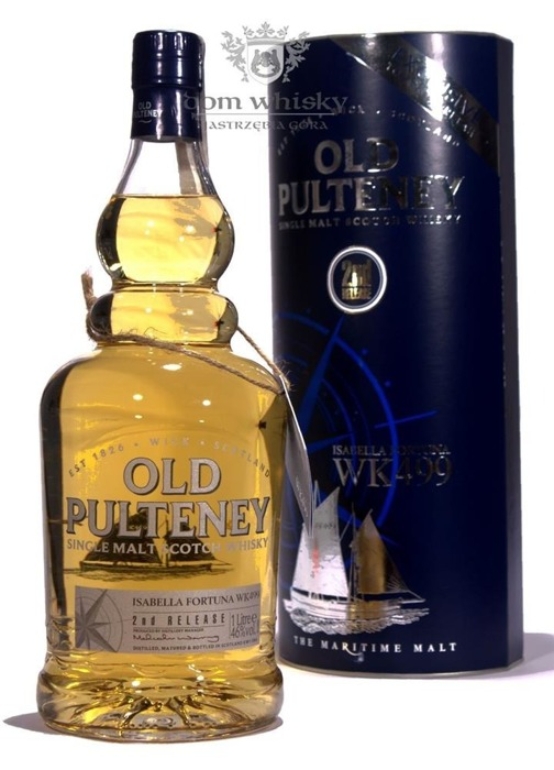 Old Pulteney Isabella Fortuna WK 499 (2nd Release) / 46%/ 1,0l