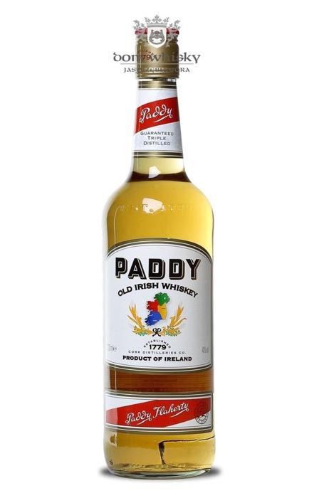 Paddy Irish Whiskey / 40% / 1,0l