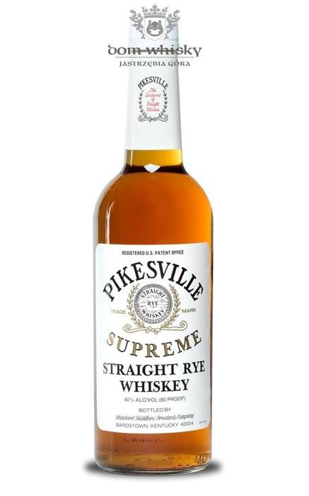 Pikesville Supreme Straight Rye Whiskey / 40% / 0,7l