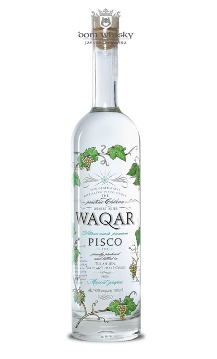 Pisco Waqar (Chile) / 40% / 0,7l