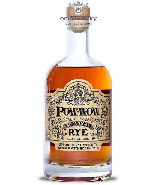 Pow-Wow Botanical Rye Straight Rye Whiskey / 45% / 0,7l