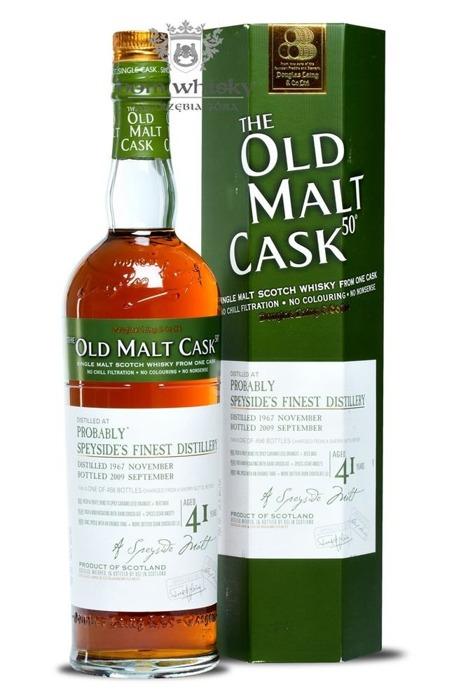 Probably Speyside's 41 Finest Distillery Old Malt Cask /50%/0,7l