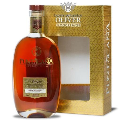Punta Cana Tesoro Malt Whisky Finish, 15-letni / 38% / 0,7l