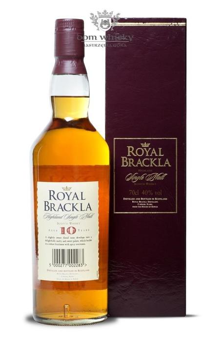 Royal Brackla 10 letni / 40% / 0,7l