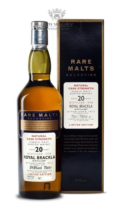 Royal Brackla 20-letni D.1978 B.1998 Rare Malts / 59,8% / 0,7l