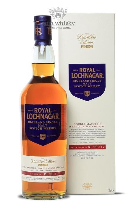 Royal Lochnagar 12 letni D.1998 B.2011 Muscat Cask / 40% / 0,7l