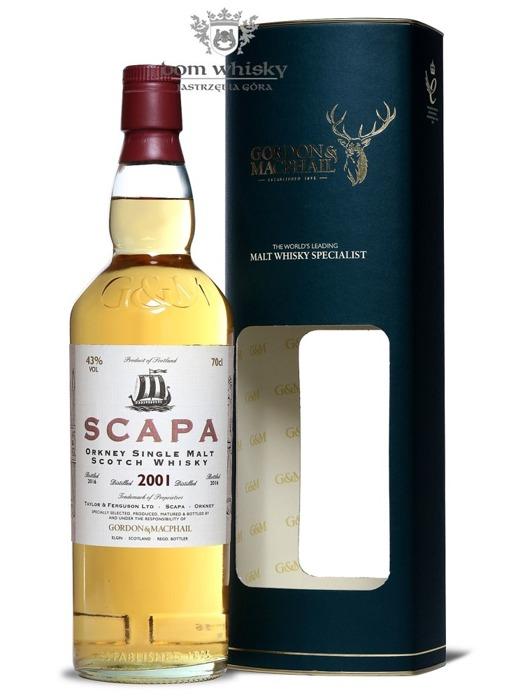 Scapa 2001 (Bottled 2016) Gordon & Macphail / 43% / 0,7l