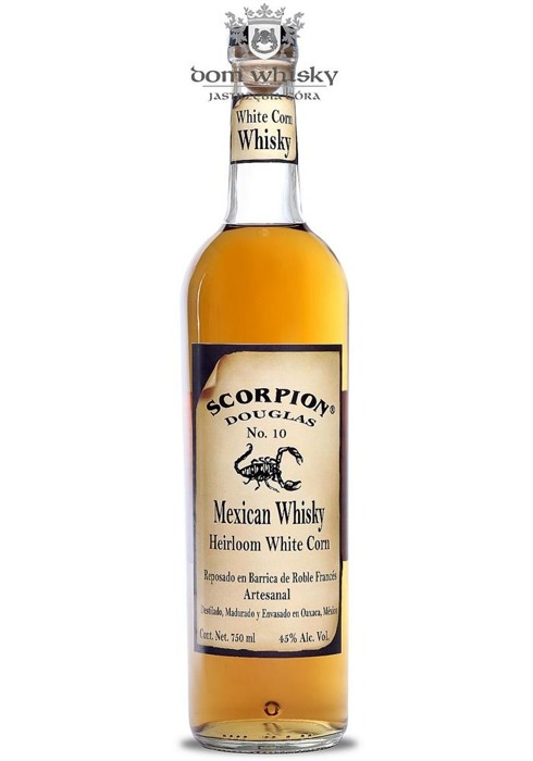 Scorpion Mexican Whisky Heirloom White Corn / 45% / 0,75l