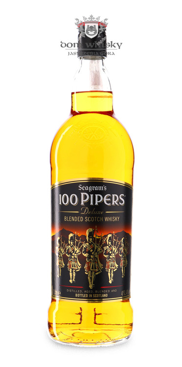 Seagram's 100 Pipers / 40% / 1,0l