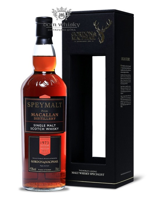 Speymalt from Macallan Distillery (D.1973 B.2015) G&M /43%/0,7l