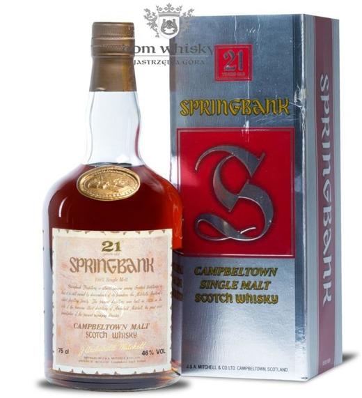 Springbank 21 letni (Bottled 1985) / 46% / 0,75l