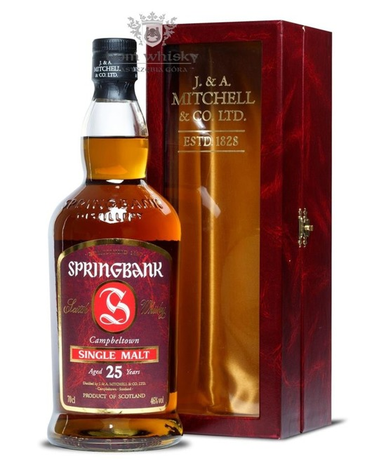 Springbank 25 letni Bottled 2006 / 46% / 0,7l