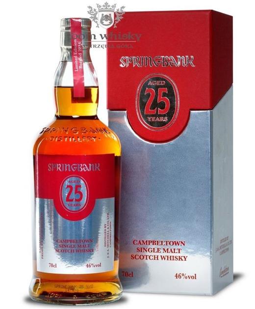Springbank 25-letni Bottled 2014 / 46% / 0,7l