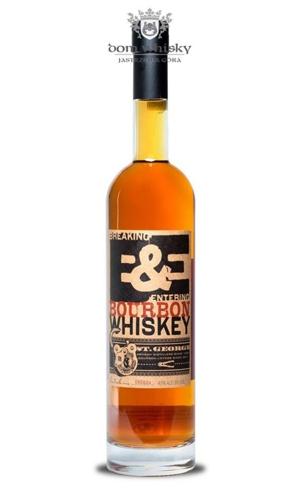 St. George Breaking and Entering Bourbon / 43% / 0,7l