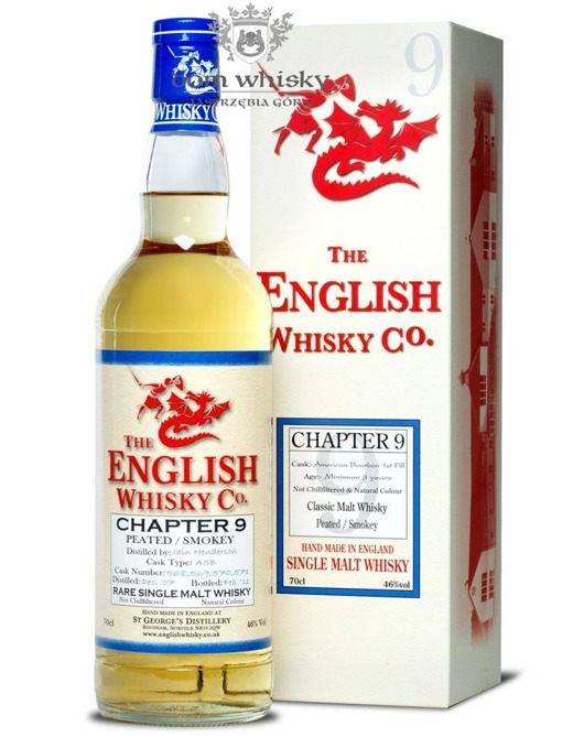 St. George's Distillery Chapter 9 Peated /Smokey / 46% / 0,7l
